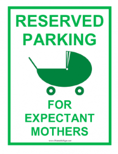 Expectant_Mother_Reserved_Parking_Sign